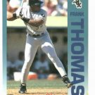 1992 Fleer Citgo 7-11 The Performer Collection Frank Thomas Oddball White Sox