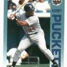 1992 Fleer Citgo 7-11 The Performer Collection Kirby Puckett Oddball Minnesota Twins