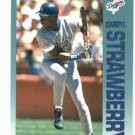 1992 Fleer Citgo 7-11 The Performer Collection Darryl Strawberry Oddball New York Mets