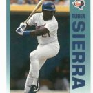 1992 Fleer Citgo 7-11 The Performer Collection Ruben Sierra Oddball Texas Rangers