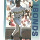 1992 Fleer Citgo 7-11 The Performer Collection Barry Bonds Oddball Pittsburgh Pirates