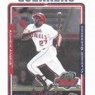 2005 Topps Opening Day Chrome Vladimir Guerrero Anaheim Angels