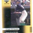 2001 Upper Deck Evolution E Card Classics Ichiro Suzuki Seattle Mariners
