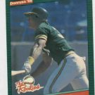 1986 Donruss The Rookies Jose Canseco Oakland A's