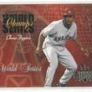 2003 Donruss Champions World Series Chone Figgins Angels #D / 2002