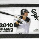 2010 Chicago White Sox Pocket Schedule