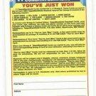 1993 Topps Black Gold Winner A Not Redemed Will Clark Barry Bonds Barry Larkin