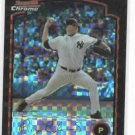 2003 Bowman Chrome Xfractor Roger Clemens New York Yankees