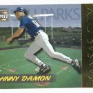1996 Pinnacle Summit Ballparks Johnny Damon Kansas City Royals #d / 8000