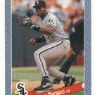 1993 Hostess Baseballs Frank Thomas Baseball Card Chicago White Sox Oddball
