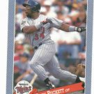 1993 Hostess Baseballs Kirby Puckett Baseball Card Minnesota Twins Oddball