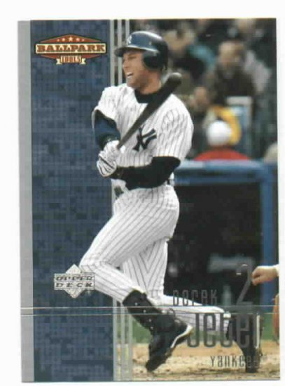 2002 Upper Deck Ballpark Idols Derek Jeter New York Yankees