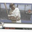 2002 Fleer Fall Classics Series Of Champions Babe Ruth New York Yankees