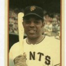 1985 Circle K Topps Home Run Kings Willie Mays Giants Mets Oddball