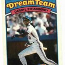 1989 Topps K Mart Dream Team Darryl Strawberry New York Mets Oddball