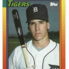 1990 Topps Traded Travis Fryman Rookie Detroit Tigers