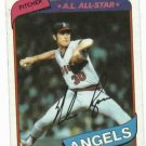 1980 Topps Nolan Ryan California Angels
