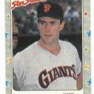 1988 Fleer Star Stickers Will Clark Oddball San Francisco Giants