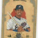 2004 Donruss Diamond Kings Orlando Cabrera Montreal Expos Serial #D /50