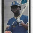 1989 Donruss Ken Griffey Jr Rookie Baseball Card Seattle Mariners
