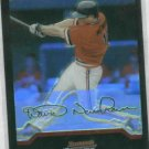 2004 Bowm Chrome Draft Picks David Newhan Rookie Refractor Boston Red Sox
