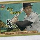 2003 Fleer Ultra When It Was A Game Luis Aparicio Chicago White Sox
