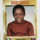 1996 Sports Illustrated For Kids Barry Sanders Detroit Lions Football Card
