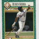 1990 Sports Illustrated For Kids Ruben Sierra Baseball Card Texas Rangers