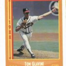 1988 Score Tom Glavine Rookie Card Atlanta Braves