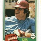 1981 Topps Pete Rose Phillies