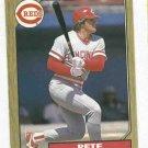 1987 O Pee Chee Pete Rose Cincinnati Reds