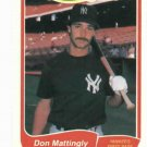 1985 Fleer Limited Edition Don Mattingly New York Yankees Oddball