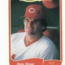 1985 Fleer Limited Edition Pete Rose Cincinnati Reds Oddball