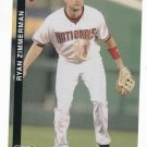 2010 Washington Nationals Ryan Zimmerman Post Card SGA
