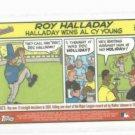 2004 Topps Bazooka Comic Roy Halladay Blue Jays Phillies Oddball