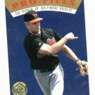 1995 Upper Deck SP Championship Series Pro Files Cal Ripken Jr Baltimore Orioles