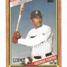 1989 Topps Senior League George Foster St Lucie Legends Cincinnati Reds Oddball