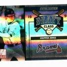 2004 Donruss Elite Extra Edition 1990 Draft Class Chipper Jones Mike Mussina Braves #D /500