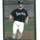 2001 Topps Traded Chrome Willie Bloomquist Seattle Mariners Rookie