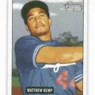 2005 Bowman Heritage Matt Kemp Los Angeles Dodgers Rookie