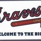 Atlanta Braves Welcome To The Bigs Sticker