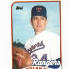 1989 Topps Traded Nolan Ryan 106T Texas Rangers