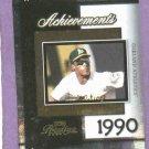 2004 Playoff Prestige Achievements 1990 AL MVP Rickey Henderson Oakland A's