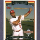 2006 Topps National Baseball Card Day Albert Pujols St Louis Cardinals Oddball