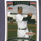 2006 Topps National Baseball Card Day Alex Rodriguez New York Yankees Oddball