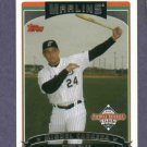 2006 Topps National Baseball Card Day Miguel Cabrera Florida Marlins Tigers Oddball