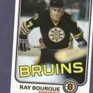 1981 82 Topps Ray Bourque Boston Bruins