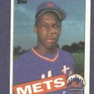 1985 Topps Dwight Gooden Rookie New York Mets