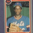 1985 Fleer Dwight Gooden Rookie New York Mets