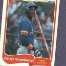 1985 Fleer Limited Edition Darryl Strawberry New York Mets Oddball